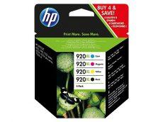 HP 920XL 4 darabos nagy kapacitású Black/Cyan/Magenta/Yellow eredeti tintapatronok (C2N92AE)