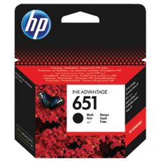 HP 651 Black eredeti Ink Advantage patron (C2P10AE)