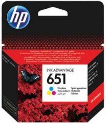 HP 651 Color eredeti Ink Advantage patron (C2P11AE)