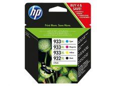 HP 932XL Black/933XL Cyan/Magenta/Yellow 4 darabos eredeti tintapatronok (C2P42AE)