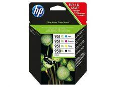 HP 950XL Black/951XL Cyan/Magenta/Yellow 4 darabos eredeti tintapatronok (C2P43AE)