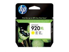 HP 920XL nagy kapacitású Yellow eredeti tintapatron (CD974AE)