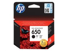 HP 650 Black eredeti Ink Advantage patron (CZ101AE)