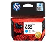 HP 655 Cyan eredeti Ink Advantage patron (CZ110AE)