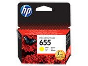 HP 655 Yellow eredeti Ink Advantage patron (CZ112AE)