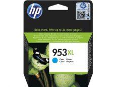 HP 953XL nagy kapacitású Cyan eredeti tintapatron (F6U16AE)