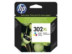 HP 302XL nagy kapacitású Color eredeti tintapatron (F6U67AE)
