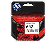 HP 652 Color eredeti Ink Advantage patron (F6V24AE)